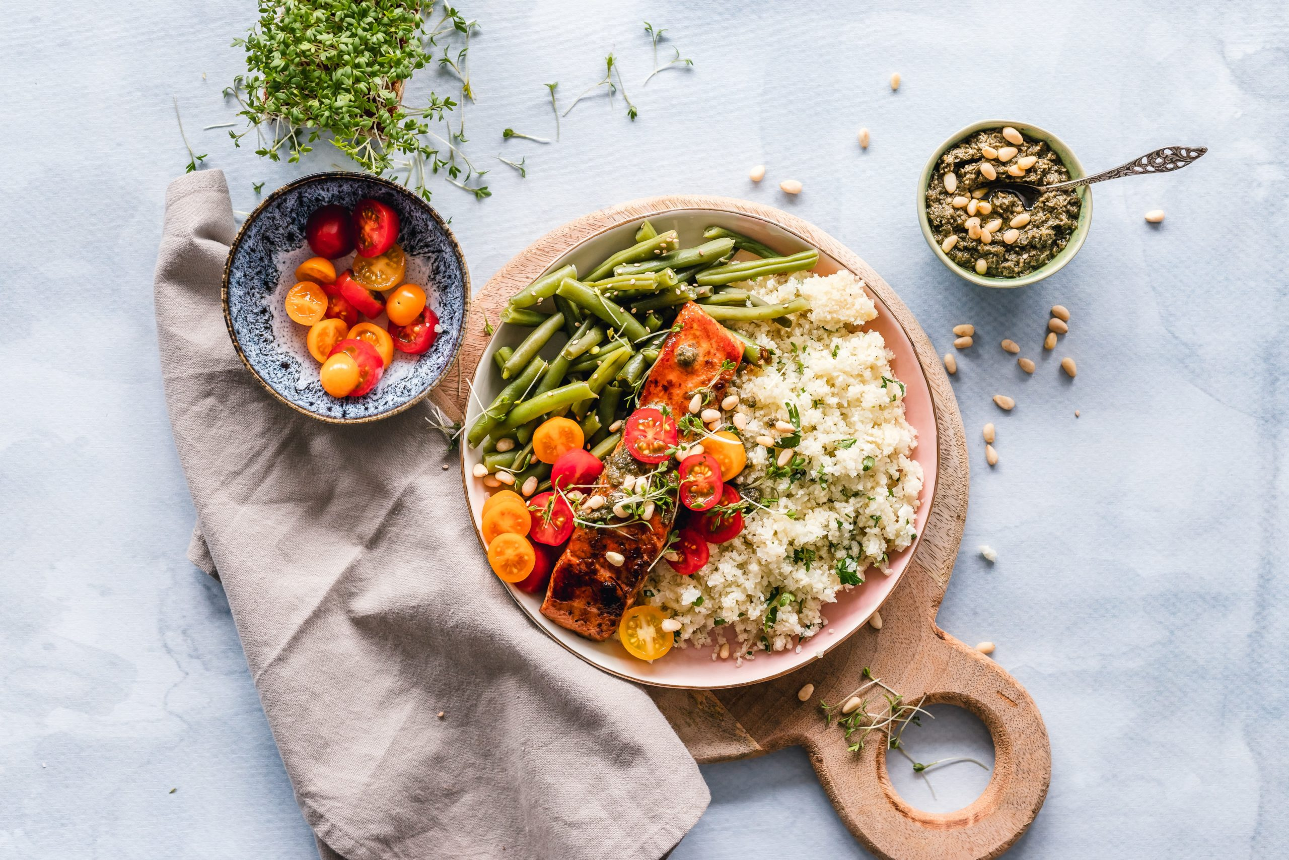 Alimentation saine pour prévenir l'hypertension