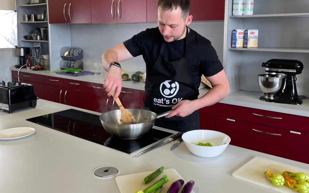 Vidéos de recettes sur l'application : Eat's OK en tournage avec des chefs !